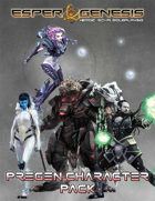 Esper Genesis Pregen Characters (5e)