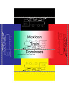 Mini Domino Cards - Mexican Train-marker-set1