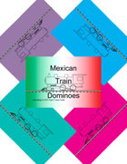 Mini Domino Cards - Mexican Train-marker-set2