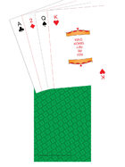Poker Deck - TTC back - Green