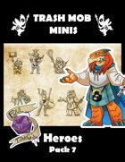 """Heroes: Pack 7 """"Foul Tidings"""""""