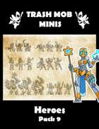 Heroes: Pack 9