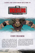 Pro Wrestling Fantasy World: Cody Deaner