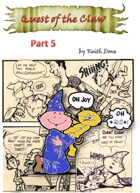 """""""The Quest of the Claw"""" RPG Comic Issue 5"""