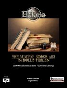 Mundane Books and Scrolls Tables