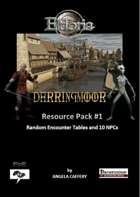 Darringmoor: Resource Pack #1 Random Encounter Tables and 10 NPCs