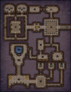 VTT Map Set - #001 Simple Dungeon