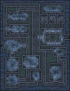 VTT Map Set - #018 Deep Sea Dungeon