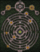 VTT Map Set - #032 Tomb of the Serpent King