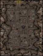 VTT Map Set - #045 Ruins of the Lost City