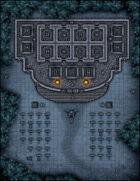 VTT Map Set - #046 Night at the Mausoleum