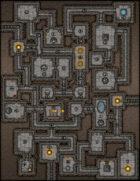 VTT Map Set - #050 Classic Dungeon