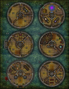 VTT Map Set - #165 The Wizards' Tower