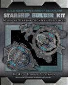 Starship Builder Kit: #2 - Terran Ring Ships