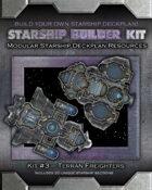 Starship Builder Kit: #3 - Terran Freighters