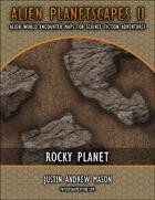 Alien Planetscapes II: Rocky Planet