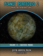 Planet Portfolio 2 - Volume 2 - Cratered Moons