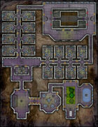 VTT Map Set - #244 Microport Motel