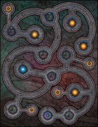 VTT Map Set - #250 Ancient Alien Intergalactic Node