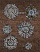 VTT Map Set - #261 Martian Encampment