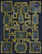 VTT Map Set - #262 Laser Arena