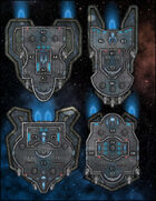 VTT Map Set - #276 Starship Deckplan: Security Patrol Shuttles