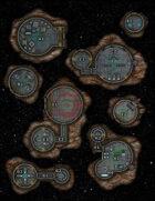 VTT Map Set - #279 Asteroid Spy Stations