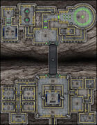 VTT Map Set - #285 Canyon Span Secret Base