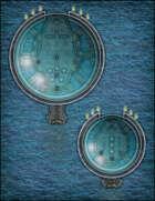 VTT Map Set - #319 Europa Deep Sea Submersible Transports