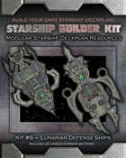 Starship Builder Kit: #6 - Lunarian Defense Ships
