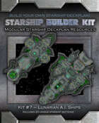 Starship Builder Kit: #7 - Lunarian A.I. Ships