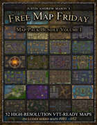 Free Map Friday - Annual Bundle - Year I - 2020 [BUNDLE]