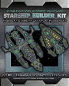Starship Builder Kit: #8 - Lunarian Delegate Class Ships