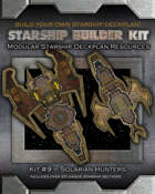 Starship Builder Kit: #9 - Solarian Hunters