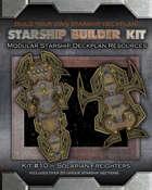 Starship Builder Kit: #10 - Solarian Freighters