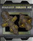 Starship Builder Kit: #11 - Solarian Passenger Ships