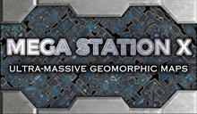 Mega Station X Geomorphic Maps