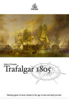 Sails & Powder: Trafalgar 1805 + FREE sea surface game mat
