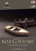 Wooden Boat & Wharf