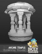 Elemental Village - Arcane Temple