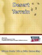 Desert Terrain Map (Squares = 5 Feet)