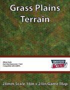 Grass Plains Terrain Map (Hexes = 1 Yard)