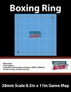 Boxing Ring Map (28mm Scale)