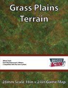 Grass Plains Terrain Map (Hexes = 2 Meters)