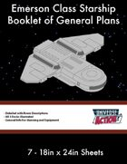 Emerson Class Starship General Plans