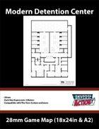 Detention Center Map (Hexes = 2 Meters)