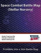 Stellar Nursery Space Battle Map