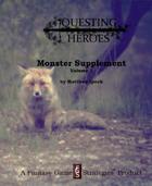 Questing Heroes Monster Supplement Vol. 1