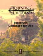 Questing Heroes Suntarynn Calendar Year One