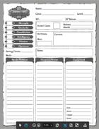 Eorathril Character Sheet